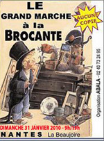 2010 agenda salons antiquites brocantes collections en france - Grande brocante nantes ...