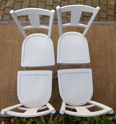 Chaises bistrot anciennes magasin au bon march paris - Dessus de chaises ...