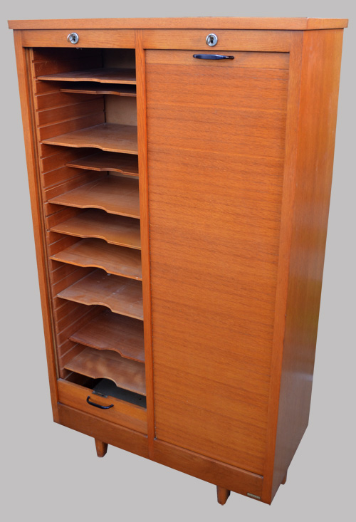 Burwood meuble de bureau classeur 28 images burwood for Meuble bureau volet roulant