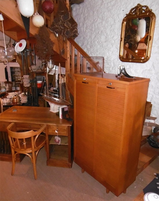 Burwood meuble de bureau classeur rideau 2 colonnes for Meuble bureau a rideau