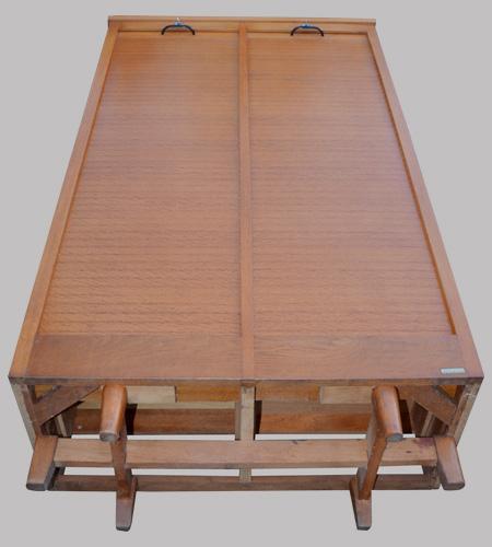 burwood meuble de bureau classeur rideau 2 colonnes. Black Bedroom Furniture Sets. Home Design Ideas