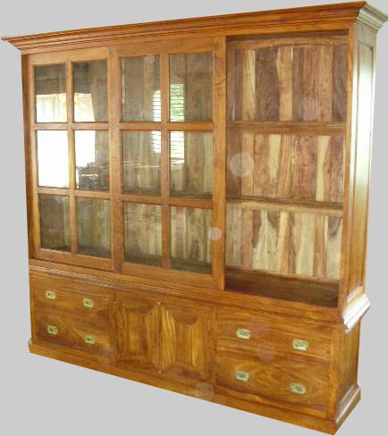 biblioth ques contemporaines r alis es en bois de margousier. Black Bedroom Furniture Sets. Home Design Ideas
