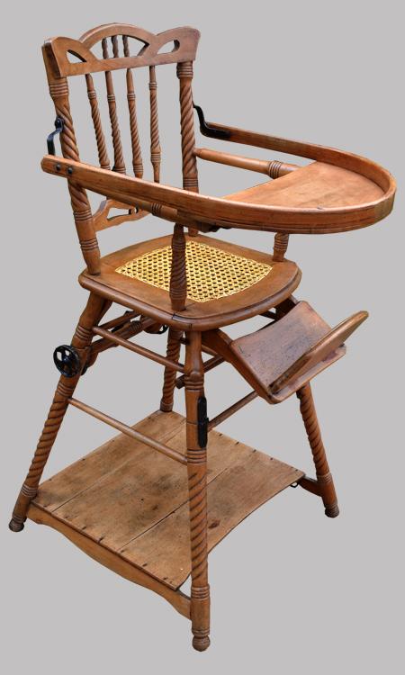 Chaise haute pour enfant transformable en table de jeu - Chaise haute pour enfant ...