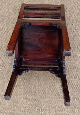 chaise en bois de palissandre massif. Black Bedroom Furniture Sets. Home Design Ideas