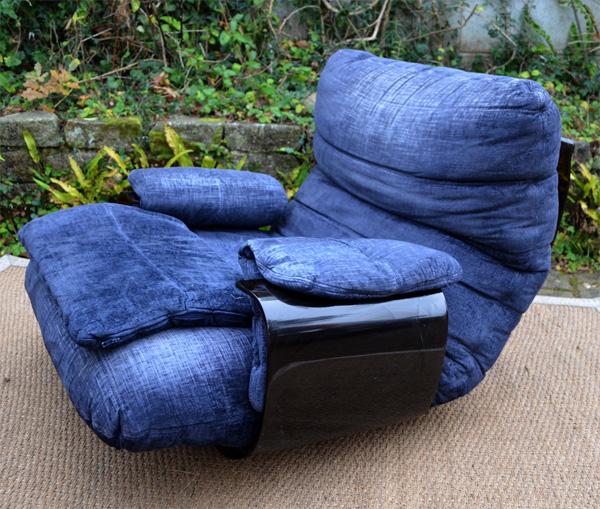 fauteuil marsala de michel ducarnoy pour ligne roset 1970. Black Bedroom Furniture Sets. Home Design Ideas