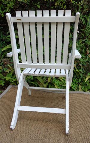 fauteuil de jardin r gleizes pliable. Black Bedroom Furniture Sets. Home Design Ideas