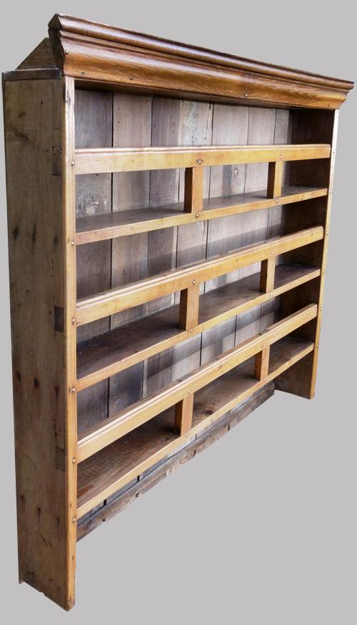 haut de buffet vaisselier breton. Black Bedroom Furniture Sets. Home Design Ideas