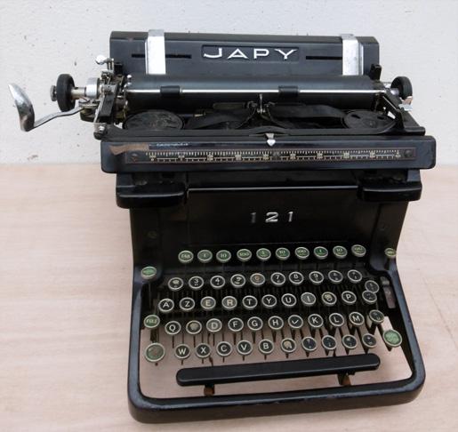 japy 121 machine 224 233 crire de bureau ancienne