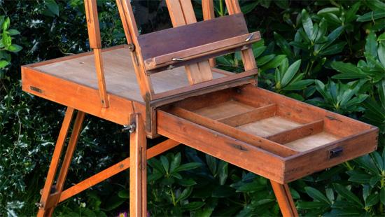 jullian chevalet de campagne pour artiste peintre. Black Bedroom Furniture Sets. Home Design Ideas