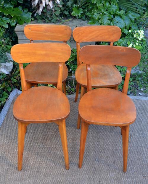 4 chaises luterma fran ais fabricnat clichy sous bois. Black Bedroom Furniture Sets. Home Design Ideas