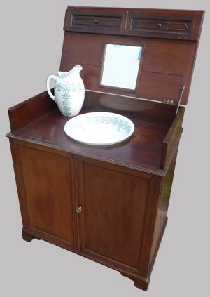 meuble de toilette pour cabine de bateau. Black Bedroom Furniture Sets. Home Design Ideas