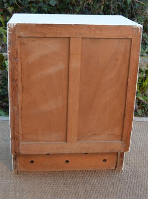 Petit meuble bas de cuisine 2 portes 1 tiroir for Petit meuble bas cuisine
