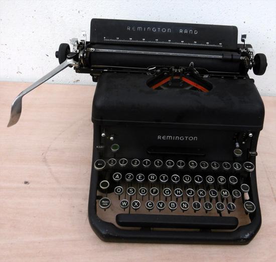 remington rand machine 224 233 crire de bureau ancienne