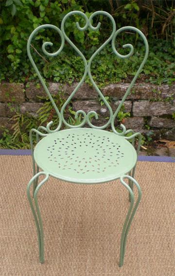 L gant ancien salon de jardin en fer forg - Chaises de jardin en fer ...