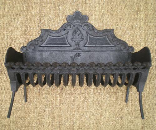 bac a buches ancien bac a braises avec reflecteur de chaleur. Black Bedroom Furniture Sets. Home Design Ideas