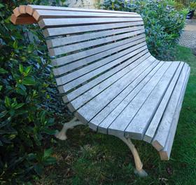 Ancien mobilier de jardin vendu par la boutique d - Banc de jardin occasion ...