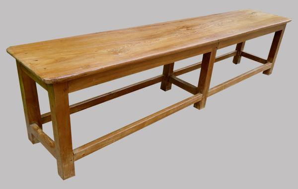 banc ancien en teck venant d 39 inde. Black Bedroom Furniture Sets. Home Design Ideas