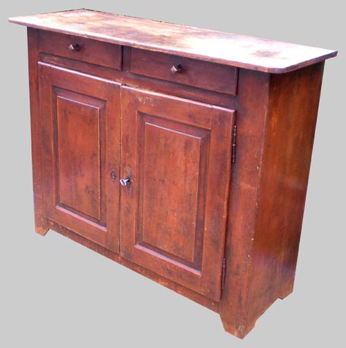 Authentique meuble buffet bas ancien du jura - Buffet bas ancien ...