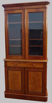 meubles deux corps anciens en merisier teck. Black Bedroom Furniture Sets. Home Design Ideas