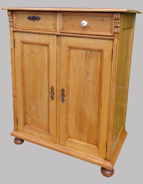 buffet ancien en pin meuble ancien tch que. Black Bedroom Furniture Sets. Home Design Ideas