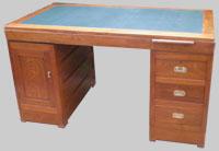 antiquit s bureaux anciens bois clair bureau merisier bureau teck. Black Bedroom Furniture Sets. Home Design Ideas