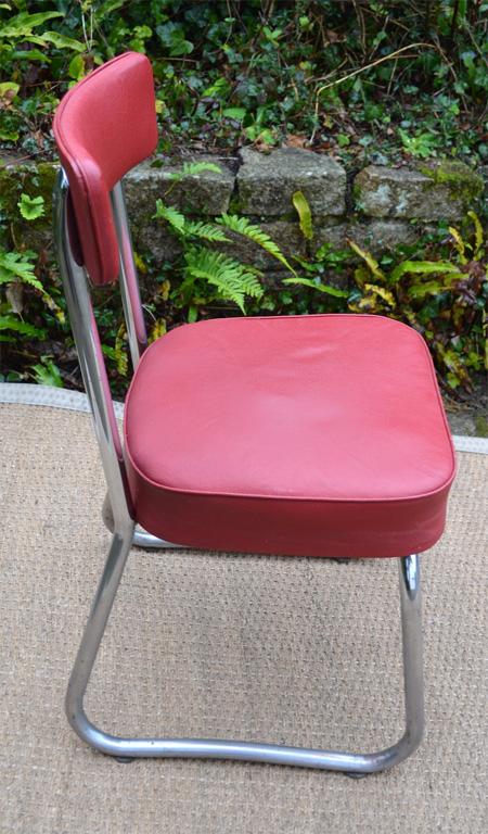 Chaise de bureau industrielle des ann es 50 - Chaise bureau industriel ...