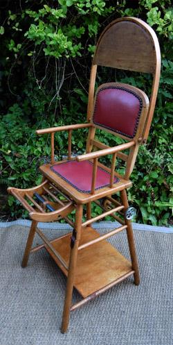 Chaise haute pour b b d 39 occasion vintage - Chaise haute tatamia occasion ...