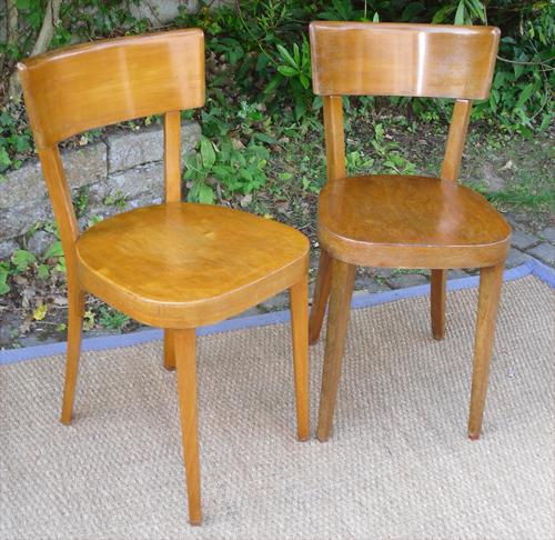 chaise bistrot baumann. Black Bedroom Furniture Sets. Home Design Ideas