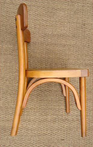 Petite chaise pour enfant baumann mobilier pour enfant en for Chaise baumann