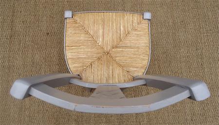 cinq belles chaises paill es rustiques et peintes pour votre cuisine. Black Bedroom Furniture Sets. Home Design Ideas