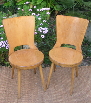 chaises baumann baumann chaise baumann bistrot chaises emile baumann. Black Bedroom Furniture Sets. Home Design Ideas