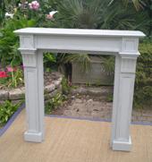 Beaux meubles d co pour l 39 t ambiance marine et color e pour le plaisir - Encadrement cheminee bois ...