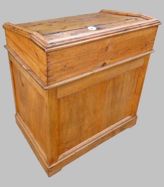 Ancien comptoir de boutique Beau meuble de métier ancien