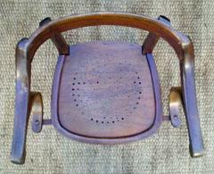 elegant et confortable fauteuil ancien modele chef de gare. Black Bedroom Furniture Sets. Home Design Ideas