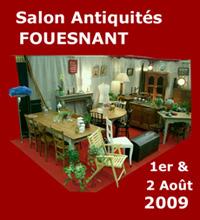 Salon antiquaires antiquit s brocante fouesnant les gl nan 2009 ev nement en pays fouesnantais - Salon antiquites brocante ...