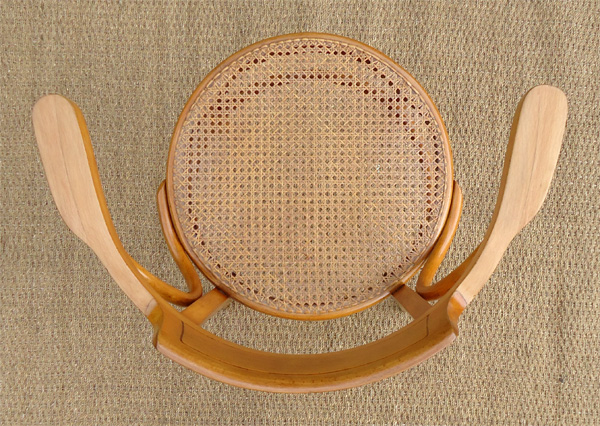 beau fauteuil de bureau ancien marque glaris sous l 39 assise. Black Bedroom Furniture Sets. Home Design Ideas