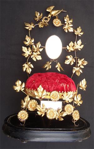 globe de mariée ancien avec son globe de verre