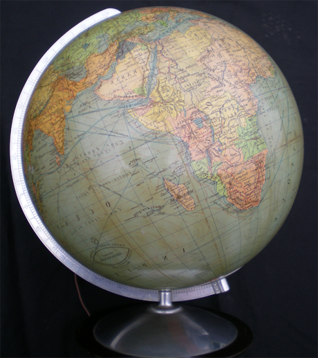 globe terrestre ancien dr neuse columbus edition philips challenge globe. Black Bedroom Furniture Sets. Home Design Ideas