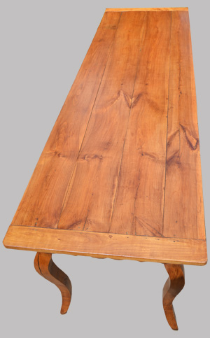 Grande table de ferme ancienne xviii me si cle avec - Grand plateau de table ...