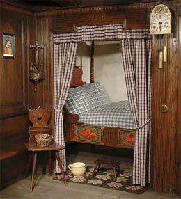 mobilier alsacien,meubles polychrome dalsace,olmer