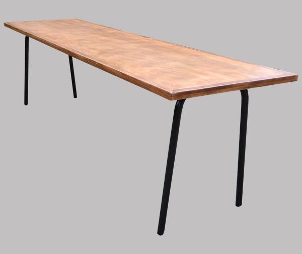 longue et large table d 39 cole ancienne