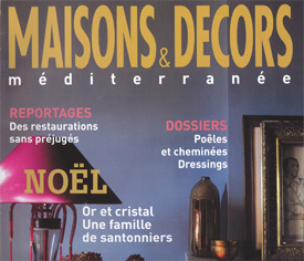Magazine Maisons Et Decors Mediterranee Ou Trouver Des Globes Terrestres