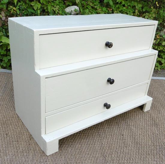 Original petit meuble 3 tiroirs meuble rangement chaussures - Meuble a chaussures original ...