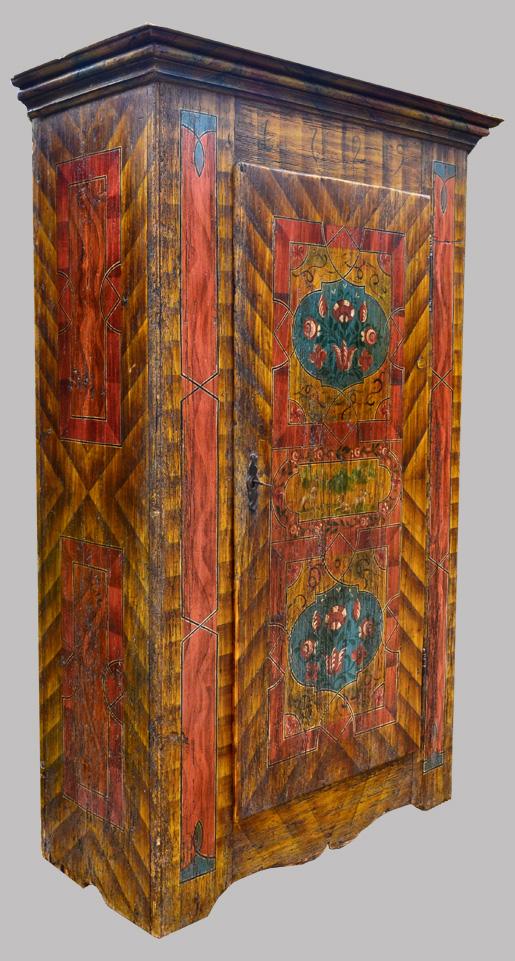 Galerie De Meubles Peints Anciens: Buffets Peints, Commodes