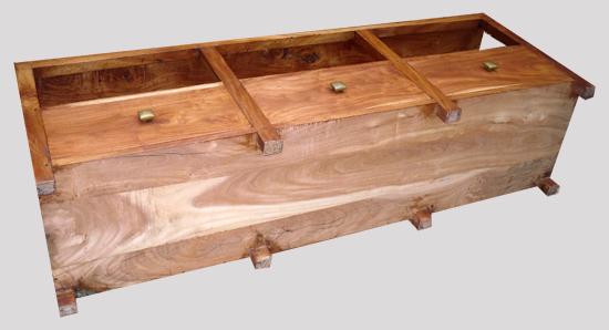 beau meuble de t l vision id al pour un grand cran fabrication contemporaine en bois ancien. Black Bedroom Furniture Sets. Home Design Ideas