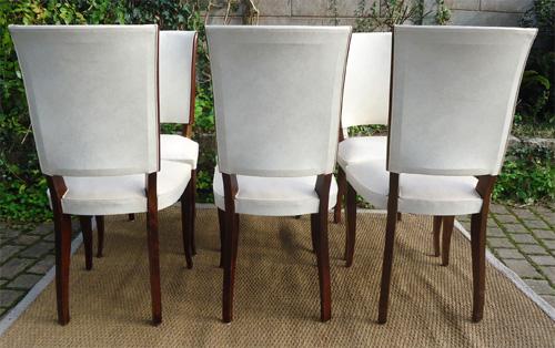 Chaises pour table pour salle manger des ann es 60 for Salle a manger annee 60