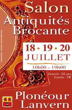 Salon antiquaires antiquit s brocante ploneour lanvern 2009 halle raphalen pays bigouden - Salon antiquites brocante ...