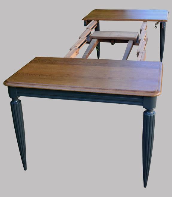 Table Carr E Avec Possibilit D 39 Allonges Centrales