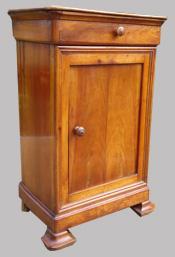 Petits meubles chevets anciens pour chambre ou autre usage - Table de chevet merisier ...