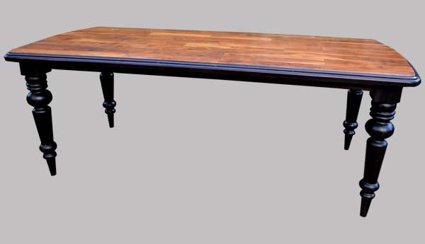 table rectangulaire ancienne avec son lateauen bois exotique. Black Bedroom Furniture Sets. Home Design Ideas